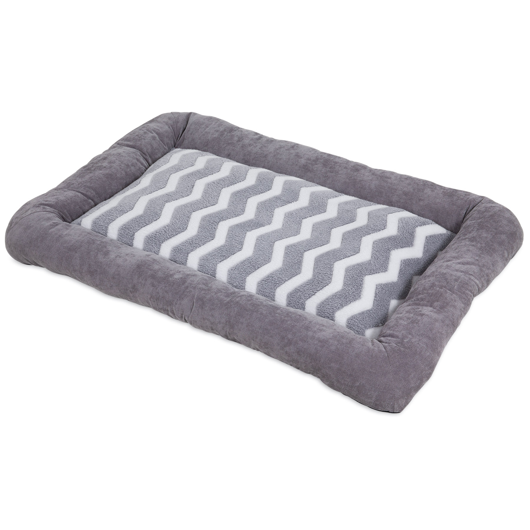 Precision Pet SnooZZy Zig Zag Low Bumper Kennel Pet Mat Image