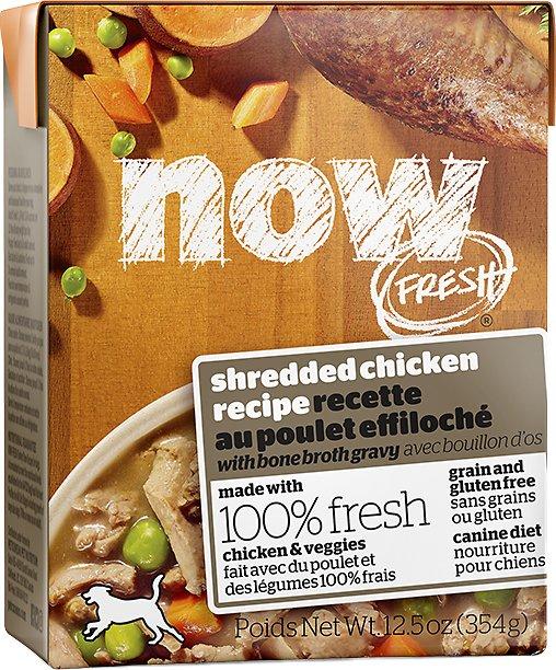 Now Fresh Grain-Free Shredded Chicken Wet Dog Food, 12.5-oz (Size: 12.5-oz) Image
