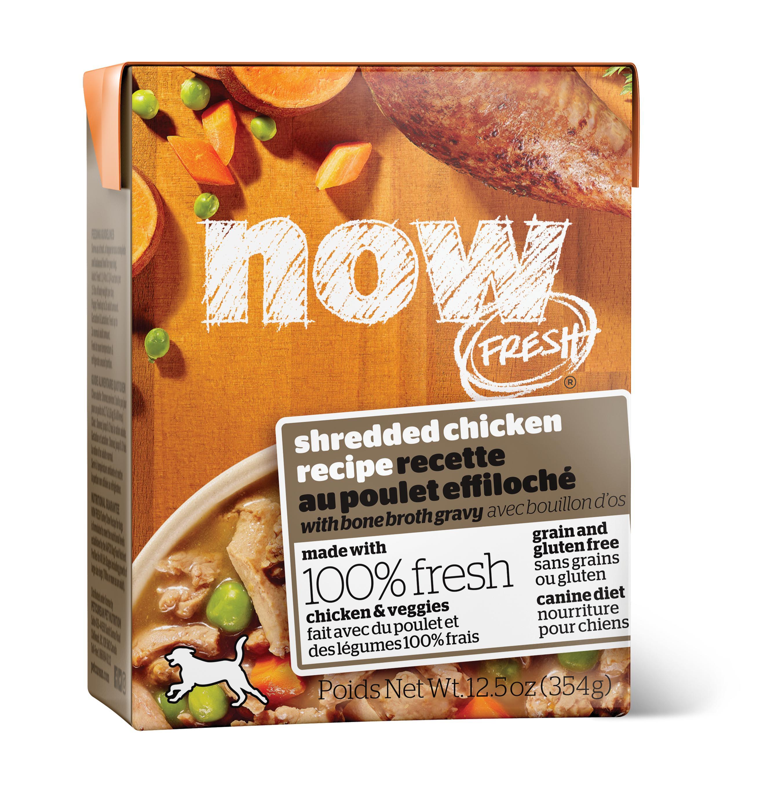 NOW FRESH Shredded Chicken Grain-Free Wet Dog Food, 12.5-oz (Size: 12.5-oz) Image