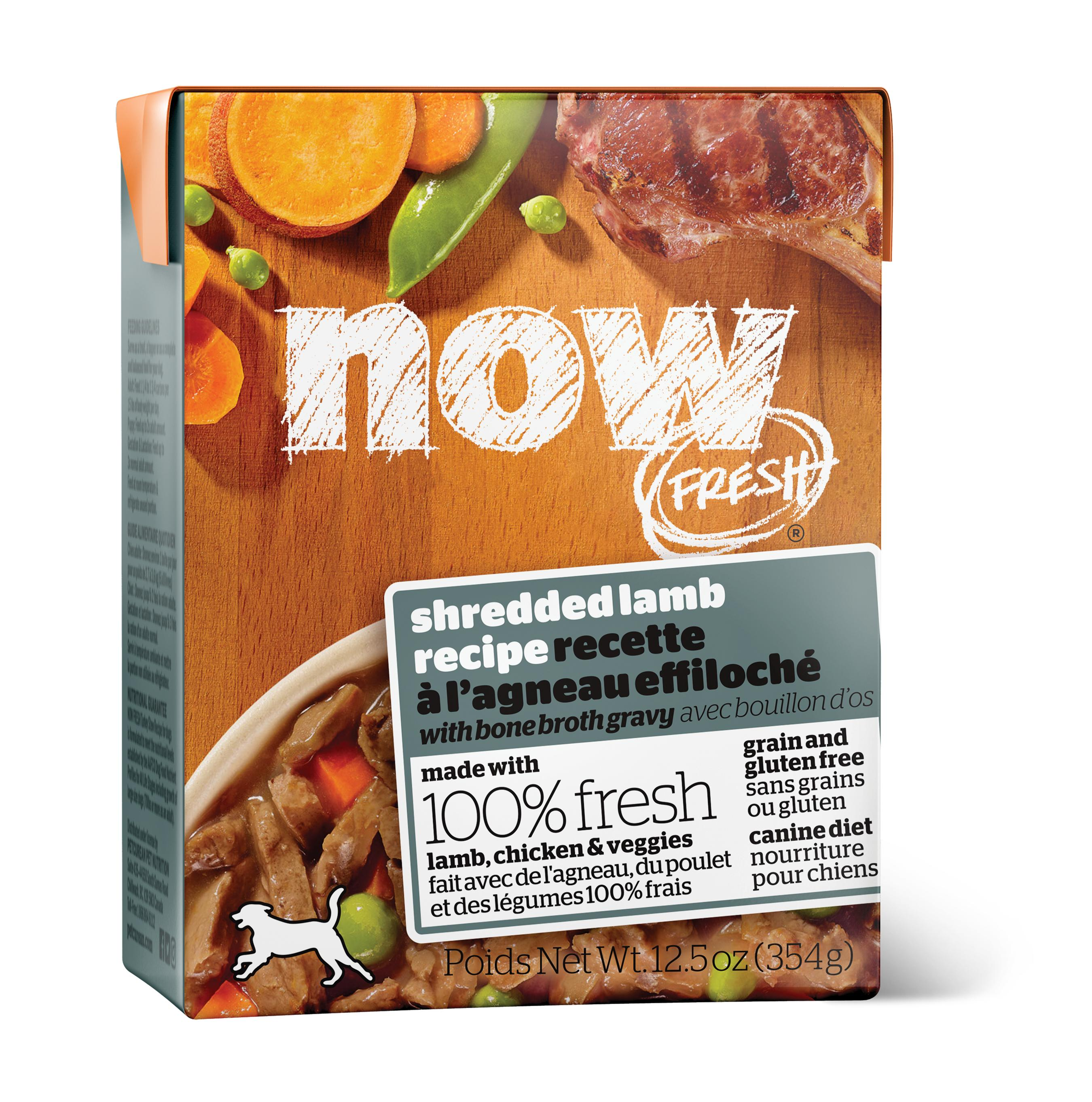 NOW FRESH Shredded Lamb Grain-Free Wet Dog Food, 12.5-oz