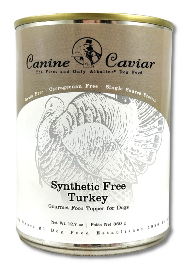 Canine Caviar Synthetic-Free Turkey Canned Dog Food, 12.7-oz can