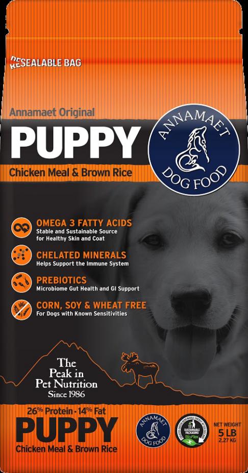Annamaet Original Puppy Formula w/ Chicken Meal & Brown Rice Dry Dog Food, 25-lb bag