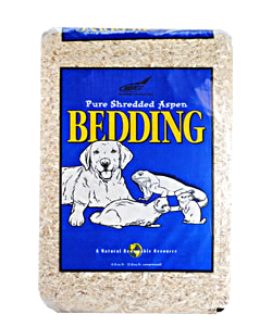 NEPCO Shredded Aspen Pet Bedding, 5-Cubic ft