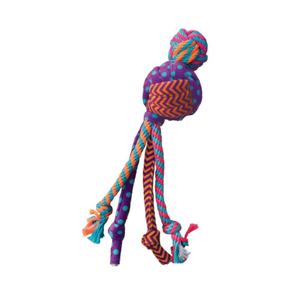 KONG Wubba Medley Dog Toy, Small