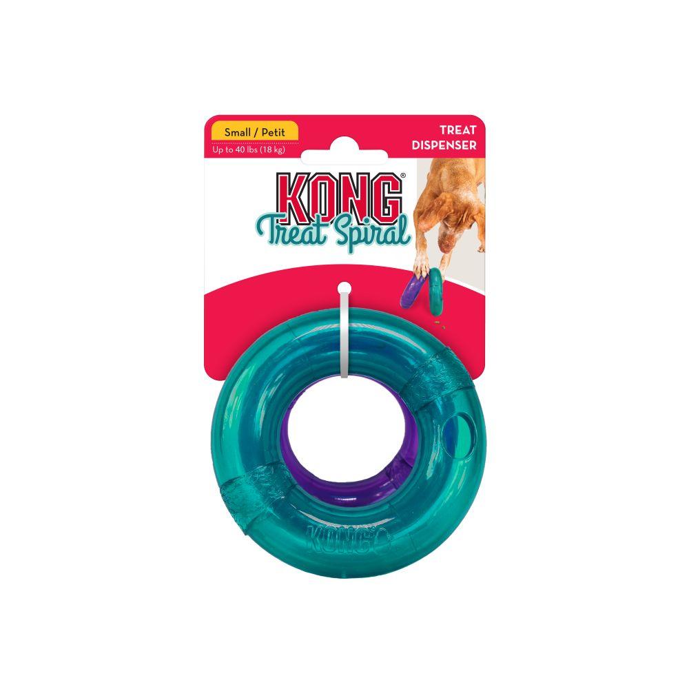 KONG Treat Spiral Ring Dog Toy Image