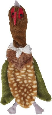 Ethical Pet Skinneeez Crinklers Bird Dog Toy, Color Varies, 14-in
