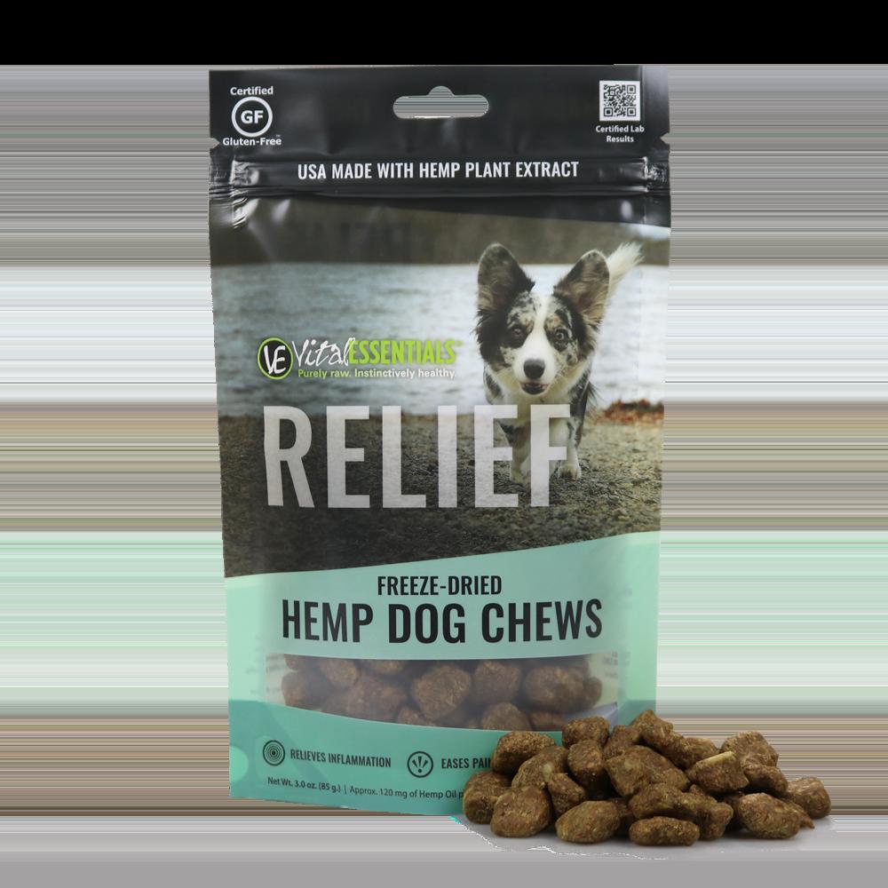 Vital Essentials RELIEF Custom Spectrum Chew for Dogs, 3-oz (Size: 3-oz) Image