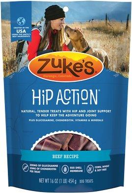 Zuke's Hip Action Beef Recipe Dog Treats, 1-lb bag