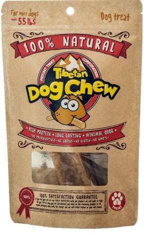 Tibetan Dog Chew for Dogs under 55-lbs, Large