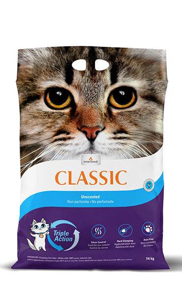 Intersand Classic Unscented Cat Litter, 15.4-lb