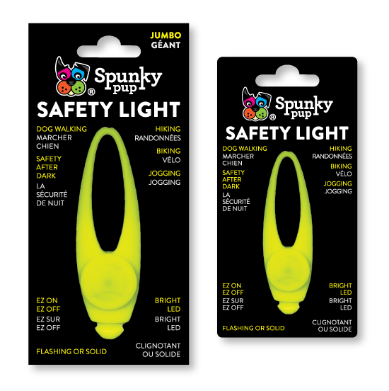 Spunky Pup Safety Light for Dogs Image