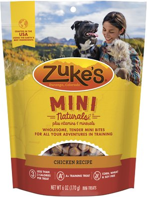 Zuke's Mini Naturals Chicken Recipe Dog Treats, 6-oz bag