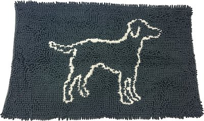 Ethical Pet Clean Paws Dog Doormat, Grey, Large