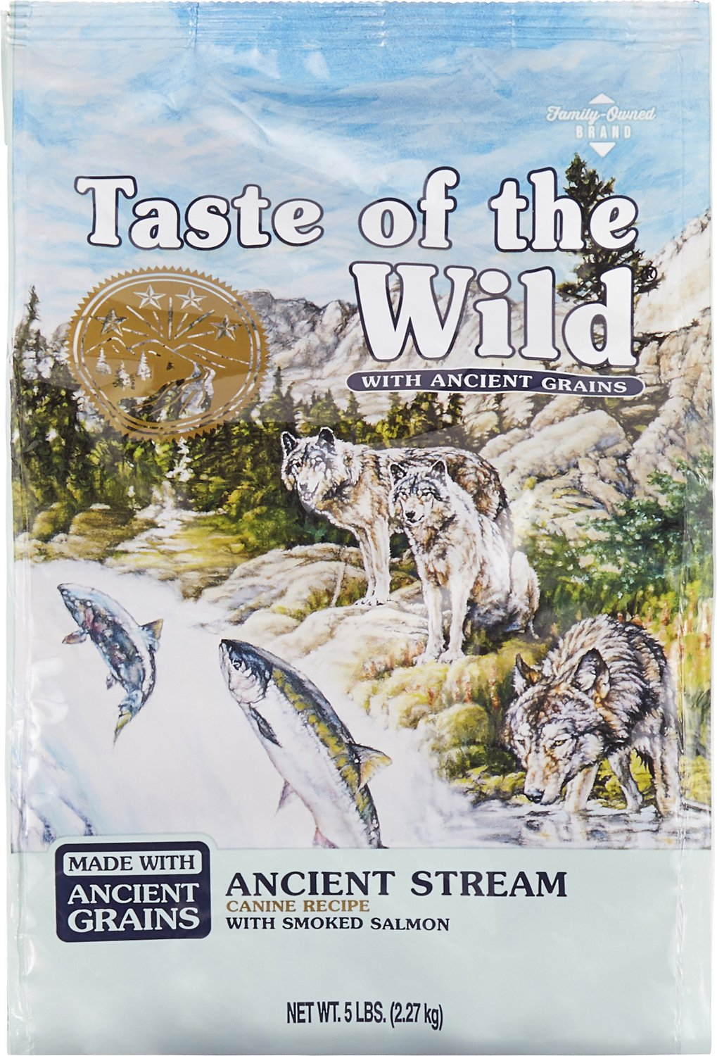 Taste of the Wild Ancient Stream with Ancient Grains Dry Dog Food Image