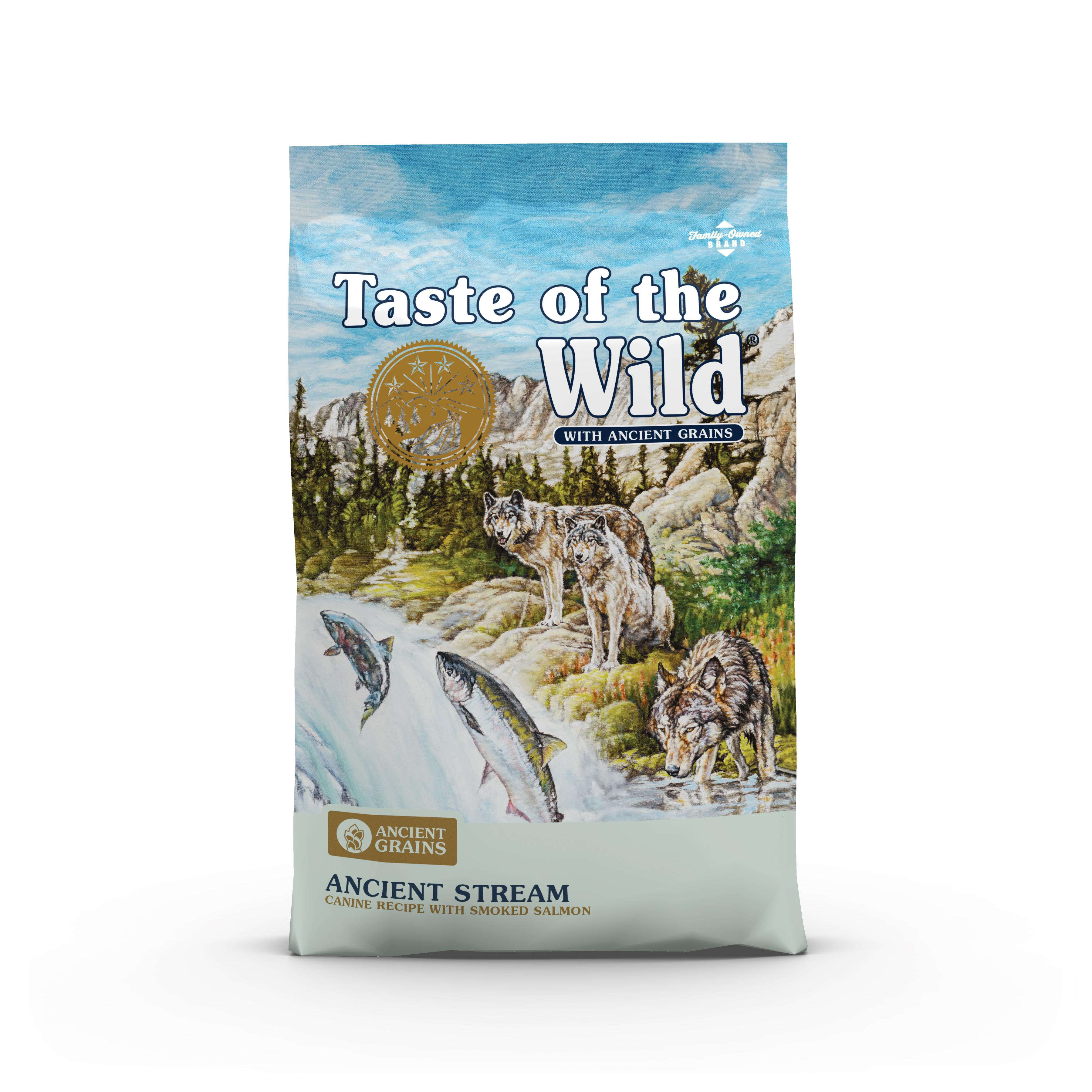 Taste of the Wild Ancient Stream with Ancient Grains Dry Dog Food, 28-lb