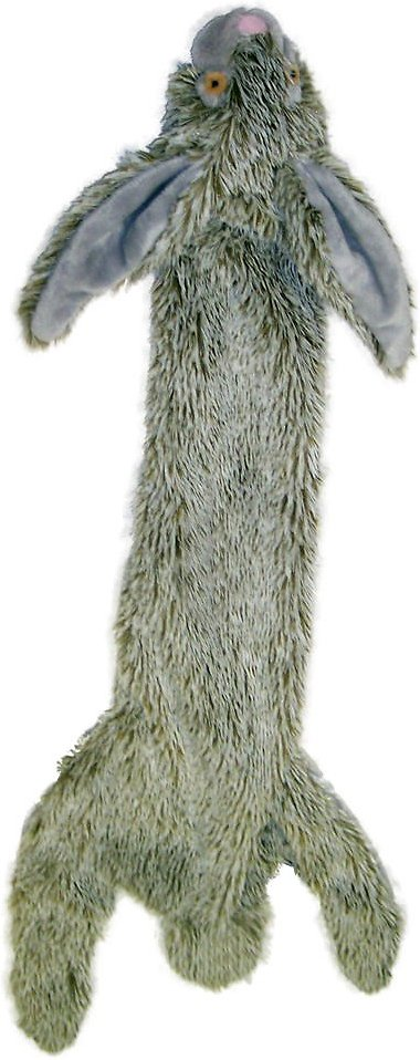 Ethical Pet Skinneeez Forest Series Rabbit Stuffingless Dog Toy Image