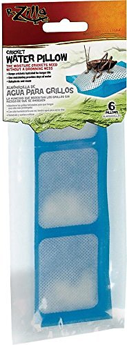 Zilla Reptile Cricket Water Pillows, 6-pk