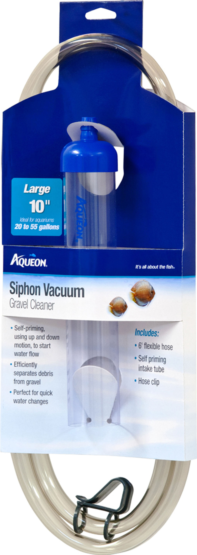 Aqueon Siphon Vacuum Aquarium Gravel Cleaner Image