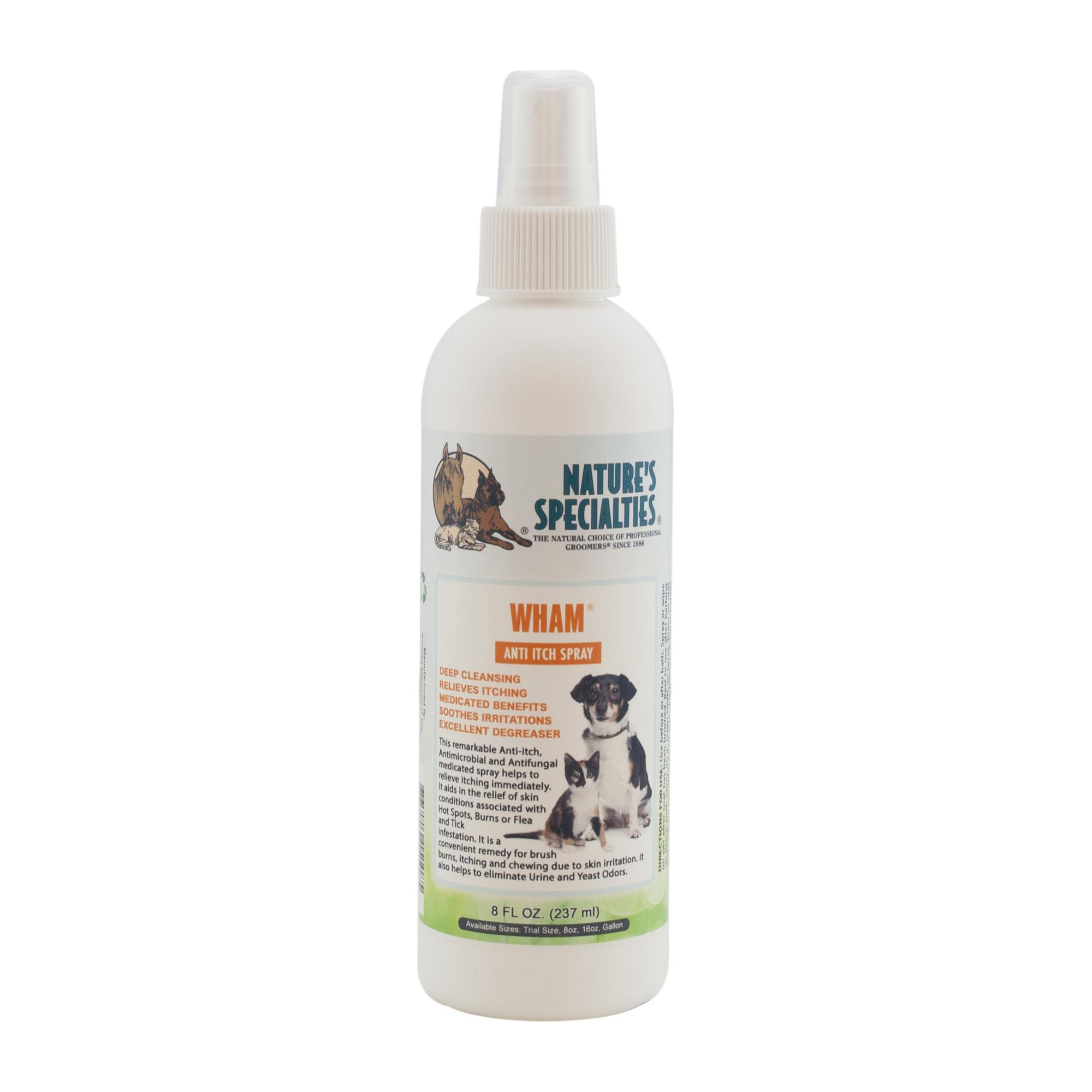 Nature's Specialties WHAM Anti-Itch Spray for Dogs & Cats, 8-oz bottle
