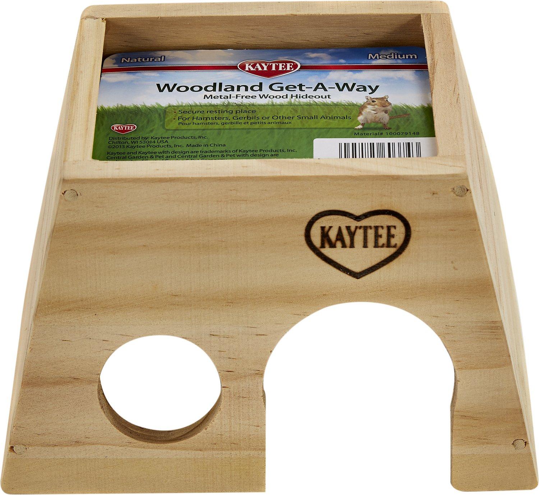 Kaytee Woodland Get-A-Way Small Animal Hideout, Medium