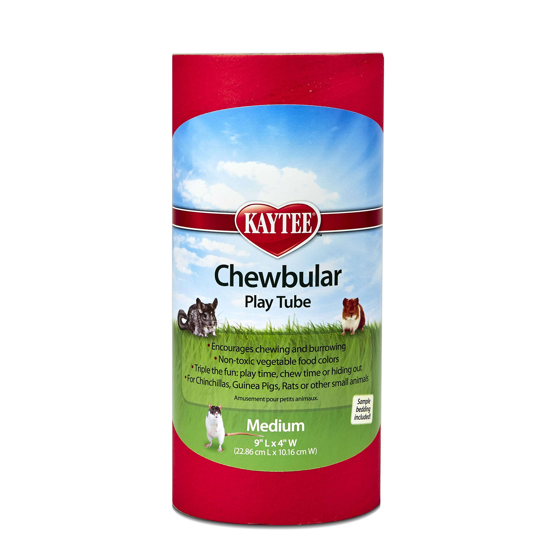 Kaytee Chewbular Small Animal Play Tube, Medium