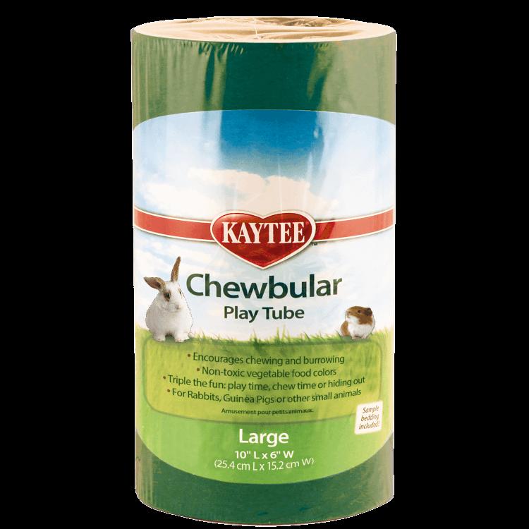 Kaytee Chewbular Small Animal Play Tube, Large
