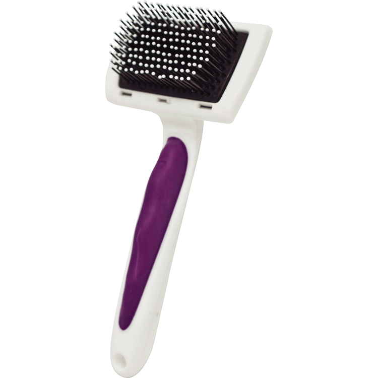 Kaytee Pro-Slicker Small Animal Brush Image