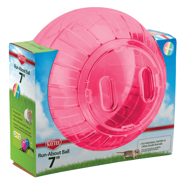 Kaytee Run-About Small Animal Exercise Ball, 7-in