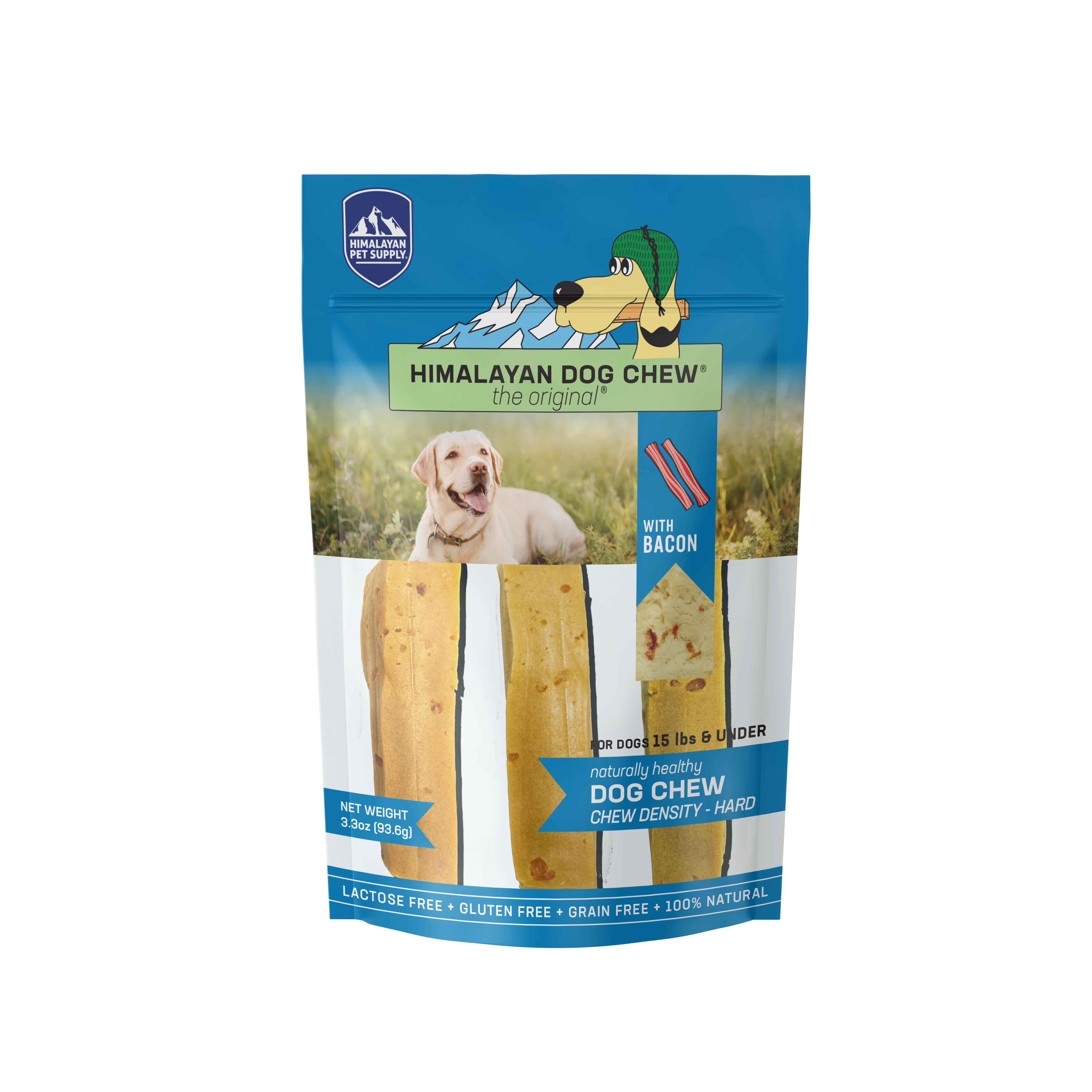 Himalayan Dog Chew, Bacon Flavor, Small