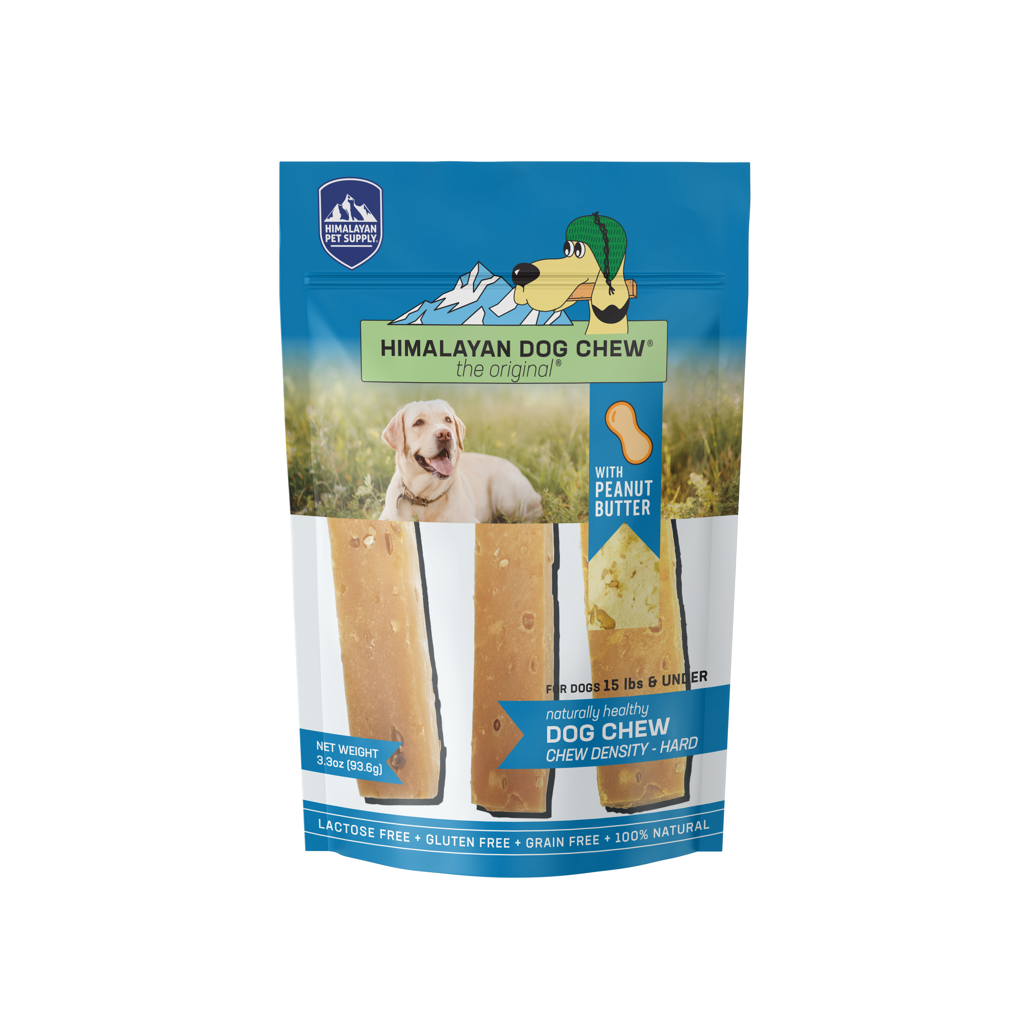 Himalayan Dog Chew, Peanut Butter Flavor, Small