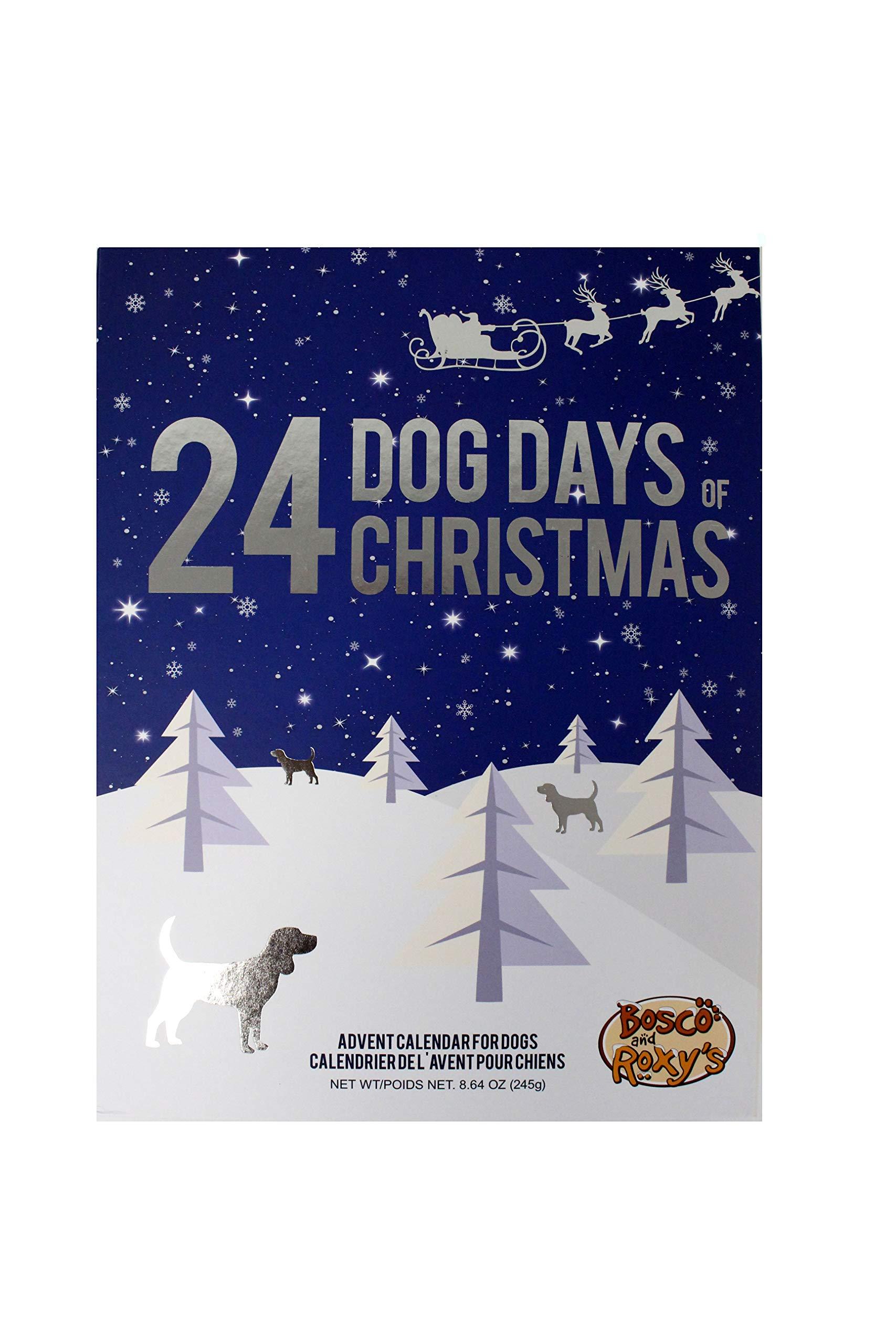 Bosco & Roxy's 24 Dog Days Christmas Advent Treat Calendar Image