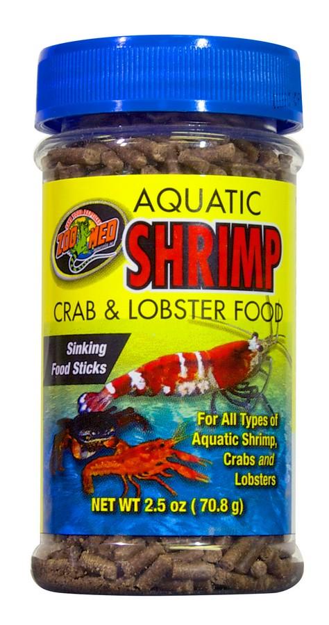 Zoo Med Aquatic Shrimp Crab & Lobster Food, 2.5-oz