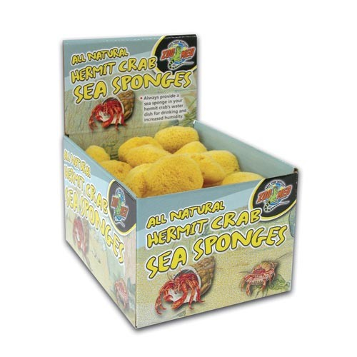 Zoo Med Hermit Crab Sea Sponge, 36-count
