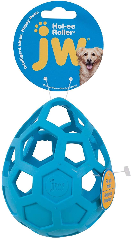 JW Pet Hol-ee Roller Wobbler Dog Toy