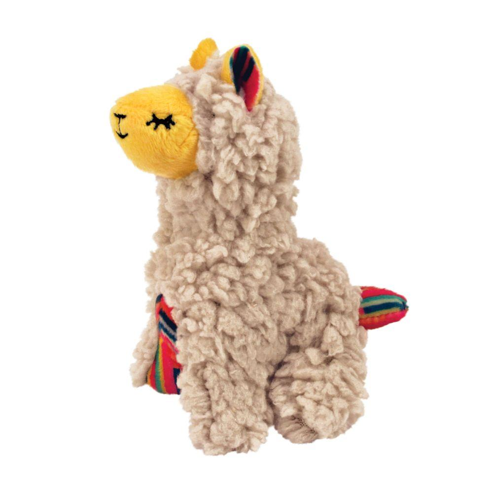 KONG Softies Buzzy Llama Cat Toy