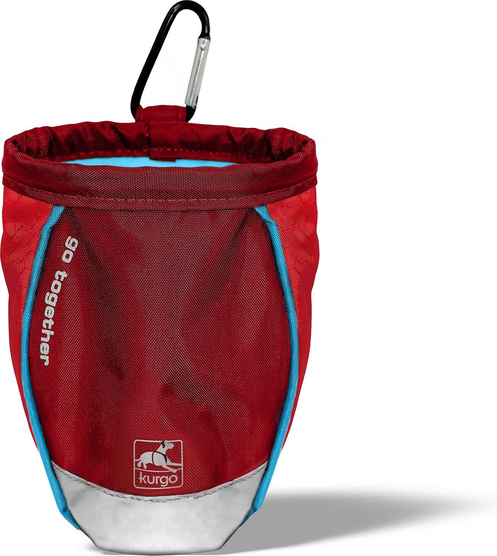 Kurgo Go Stuff It Dog Treat Bag, Red