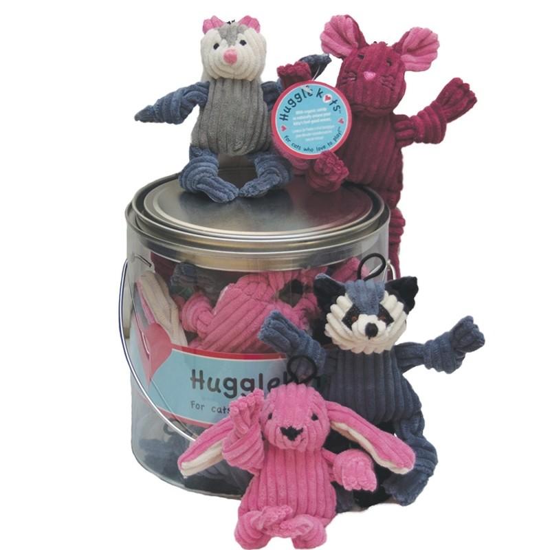 HuggleHounds HuggleKats Woodland Creatures Cat Toy Image
