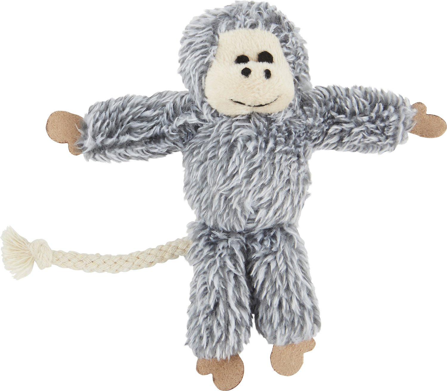 OurPets Play-N-Squeak Yeti Cat Toy