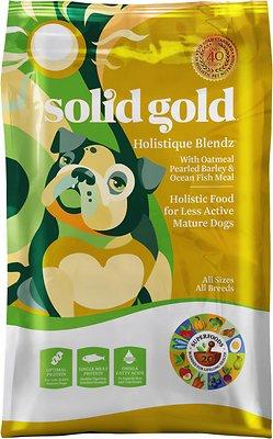 Solid Gold Holistique Blendz with Oatmeal, Pearled Barley & Ocean Fish Meal Dry Dog Food, 28.5-lb bag