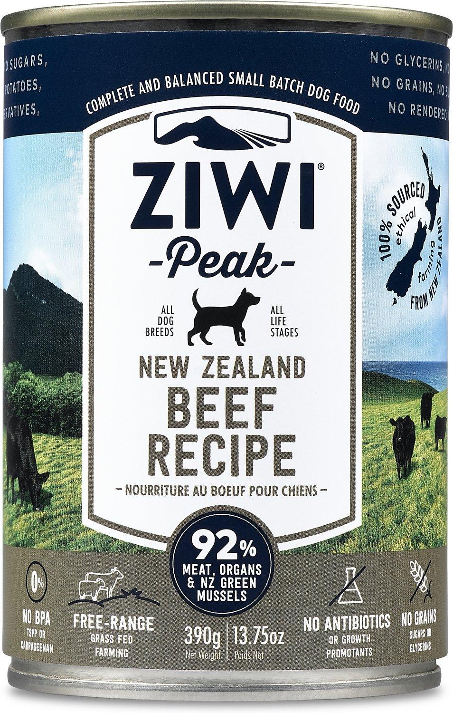 Ziwi Peak Dog Beef Recipe Canned Dog Food, 13.75-oz