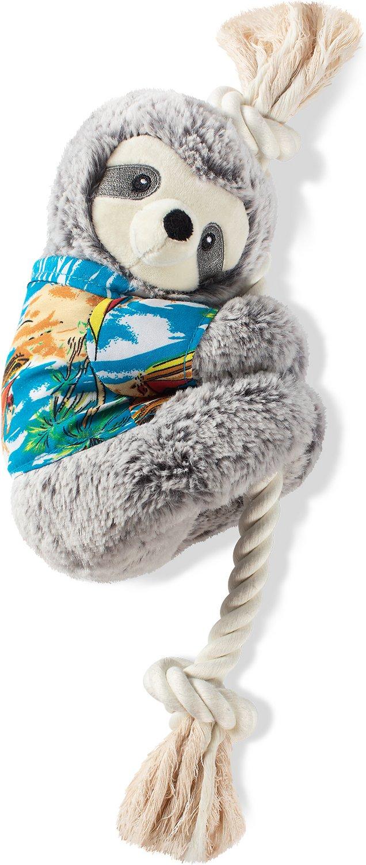 Pet Shop by Fringe Studio Summer Ray the Sloth Dog Toy