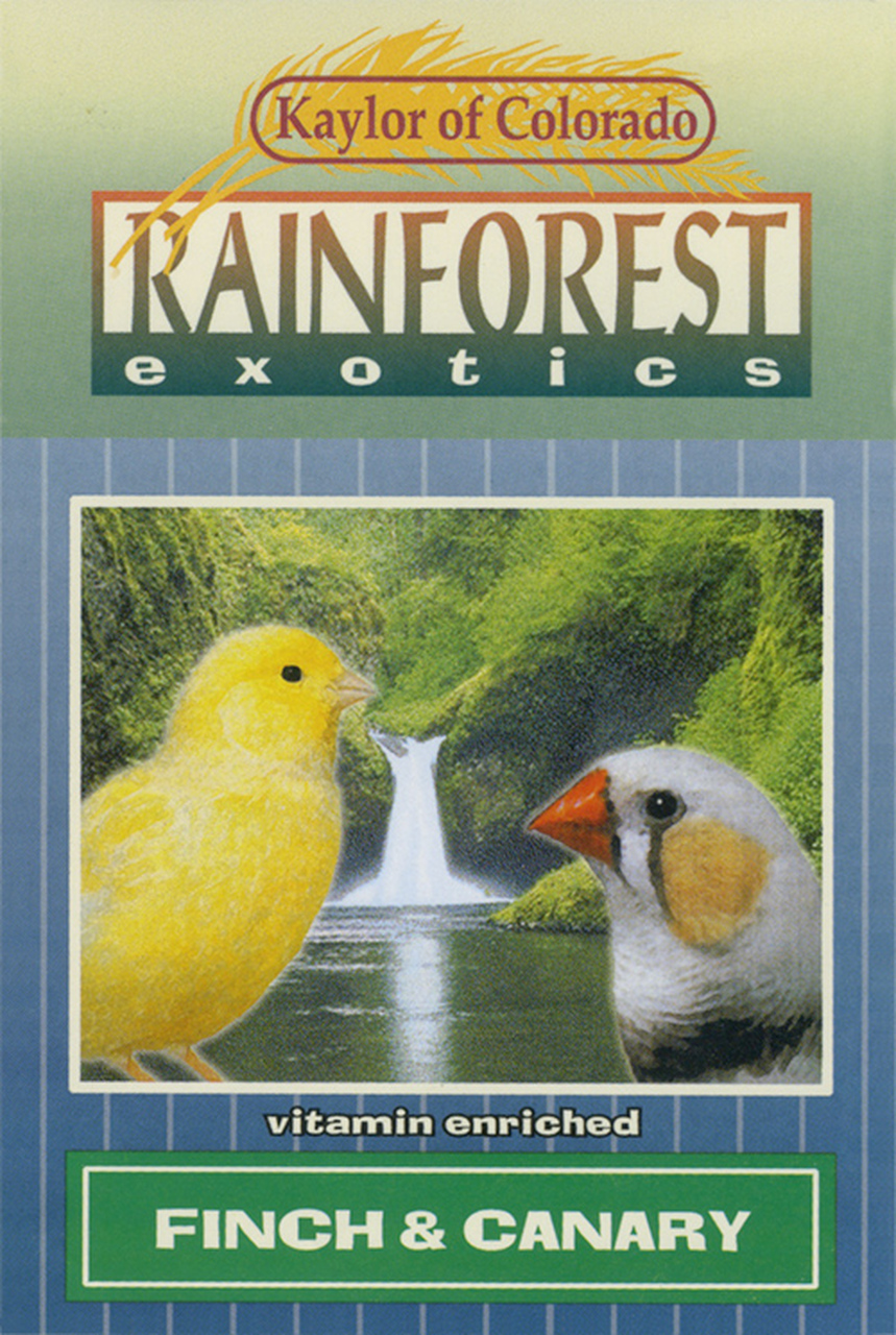 Kaylor Rainforest Exotics Canary & Finch Food, 20-lb