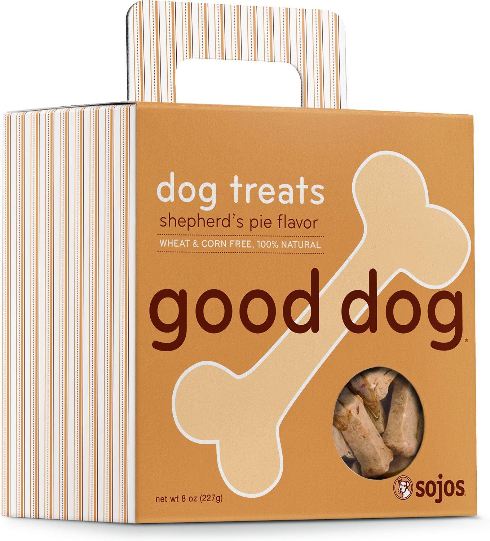 Sojos Good Dog Shepherd's Pie Flavor Dog Treats, 8-oz box