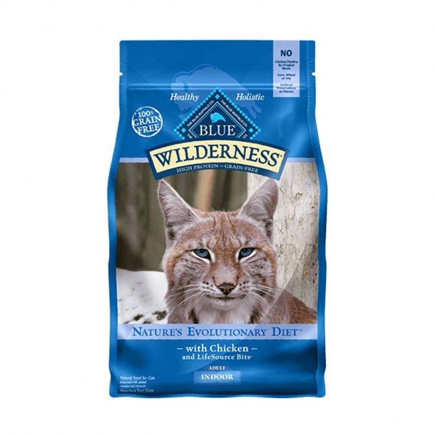 Blue Buffalo Wilderness Indoor Chicken Recipe Grain-Free Dry Cat Food Image