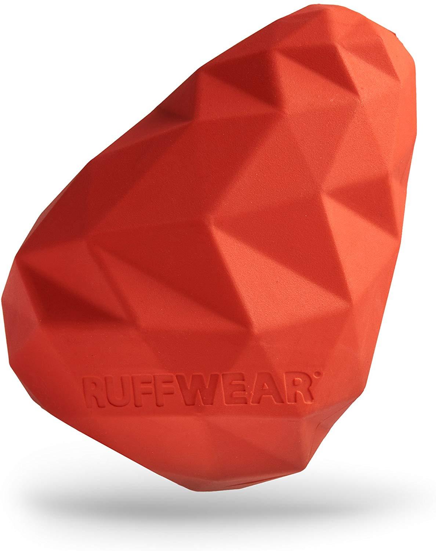 Ruffwear Gnawt-a-Cone Dog Toy, Sockeye Red