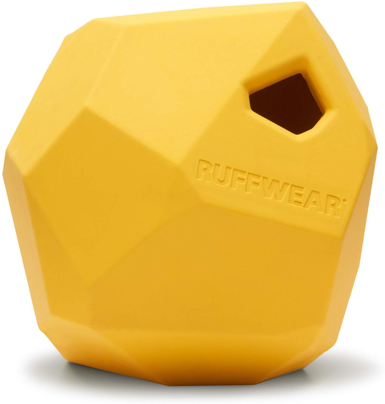 Ruffwear Gnawt-a-Rock Dog Toy, Dandelion Yellow