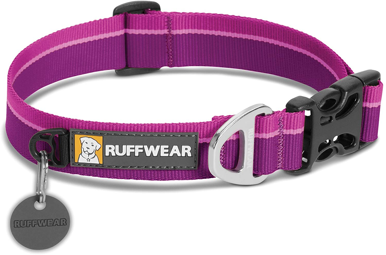 Ruffwear Hoopie Dog Collar, Purple Dusk, 14-20-in