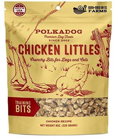 Polkadog Bakery Chicken Little Training Bits Dog Treats, 8-oz