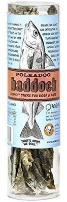 Polkadog Bakery Haddock Skins Dog & Cat Treats, 2-oz