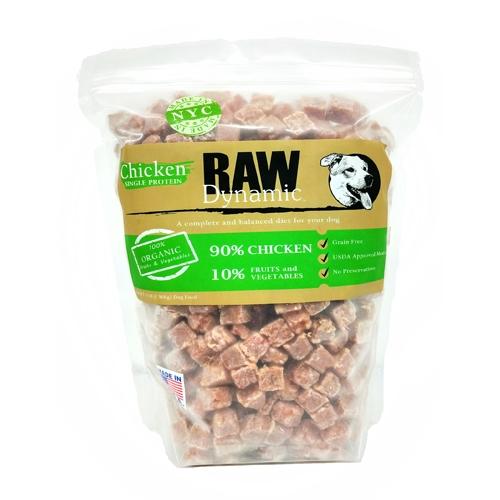 Raw Dynamic Chicken Formula Raw Dog Food, 3-lb Size: 3-lb